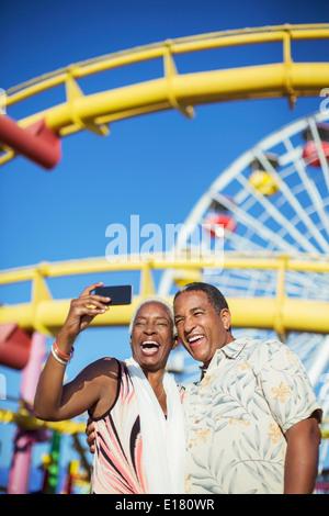 amusement park and senior citizen