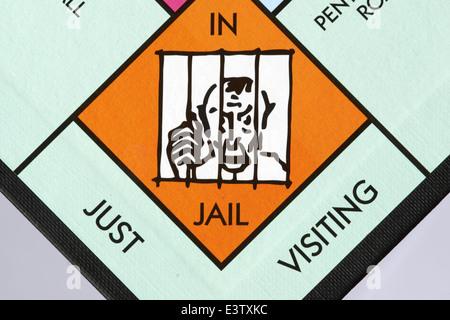 Monopoly jail clipart