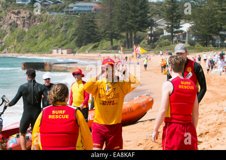 Hot water beach surf life saving
