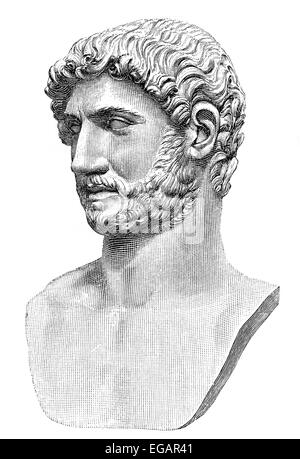 a biography of aelius hadrianus the roman emperor Publius aelius hadrianus was born in ad 76 to a cousin of the emperor trajan at age ten his father died, and hadrian became joint ward of trajan and a roman knight he spent a dissolute youth, preferring hunting to military service, and trajan kept an increasingly strict eye on him.