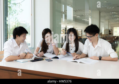 Asian students in the classroom